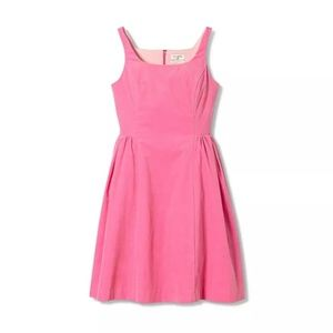 Isaac Mizrahi for Target Pink Corduroy Dress
